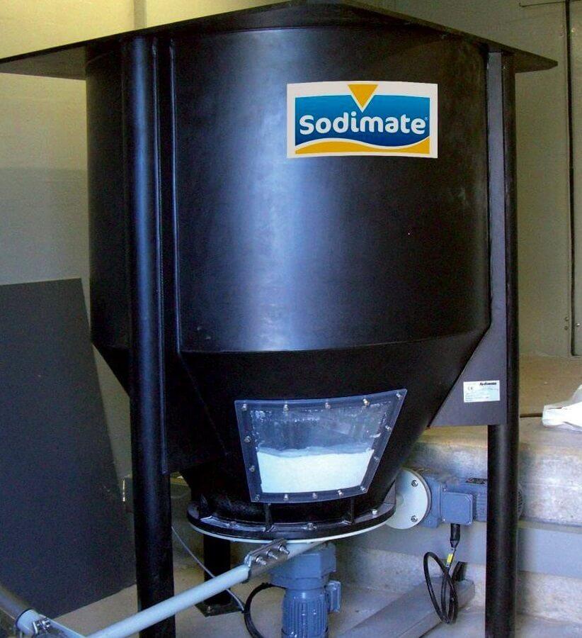 Hopper With Screw Feeder Sodimate Inc
