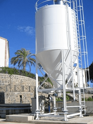Automatic bulk storage silos supplier for industries