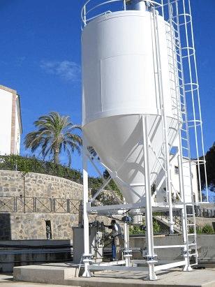 Automatic bulk storage silos supplier for industries