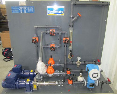 Slurry metering system