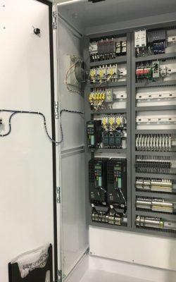 Control panel VFD Siemens Relay Logic system
