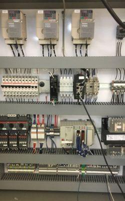 Control panel VFD Yaskawa PLC