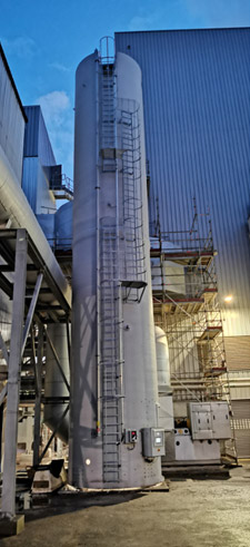lime stockage silo